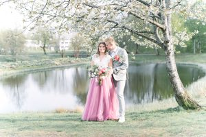 Stylad bröllopsfotografering Sävsjö