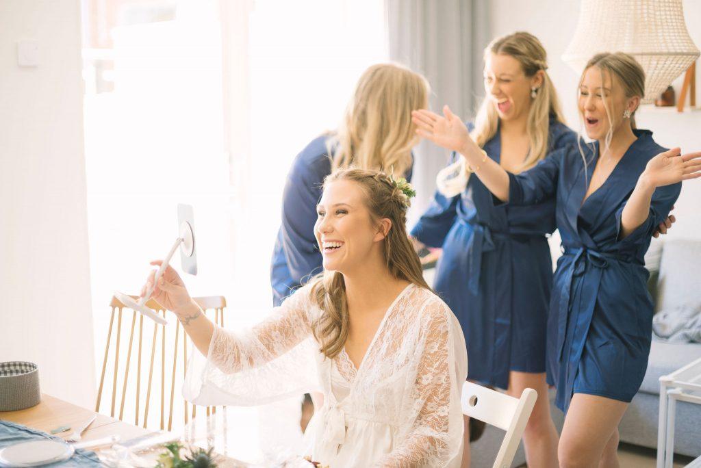 Brudens förberedelser