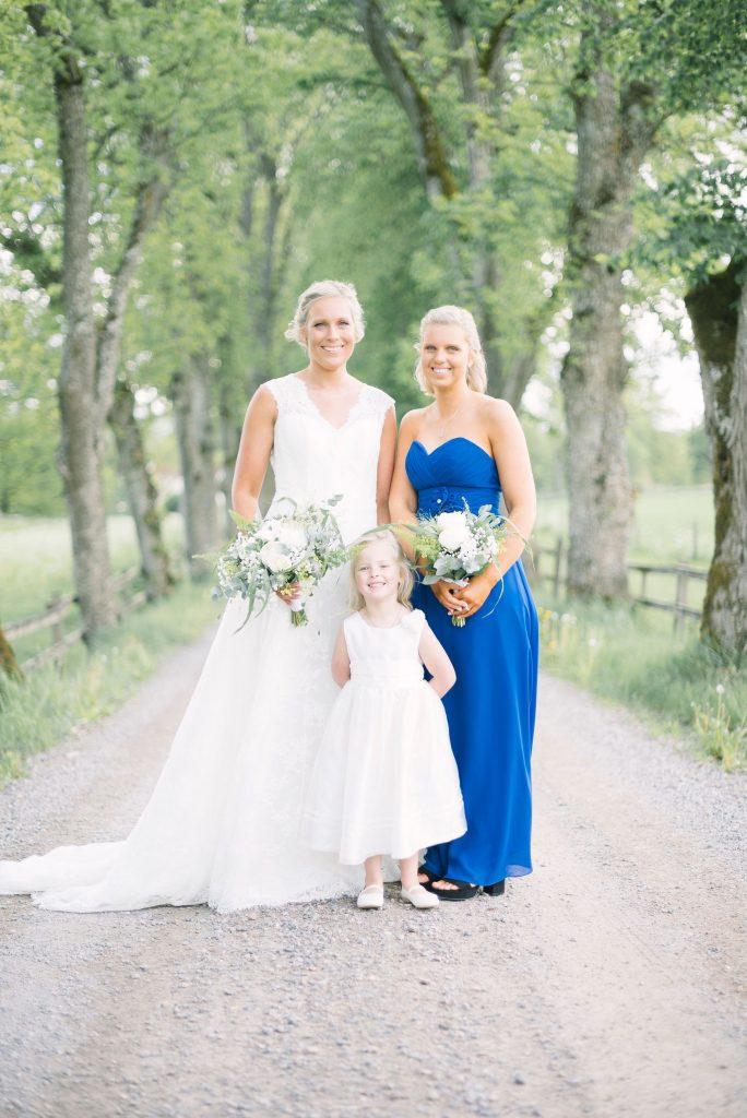 Bruden med tärna och brudnäbb