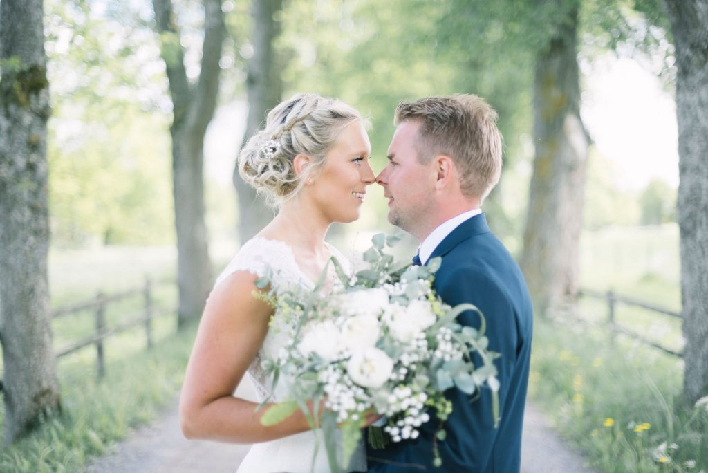 Brudpar i Vetlanda, Småland