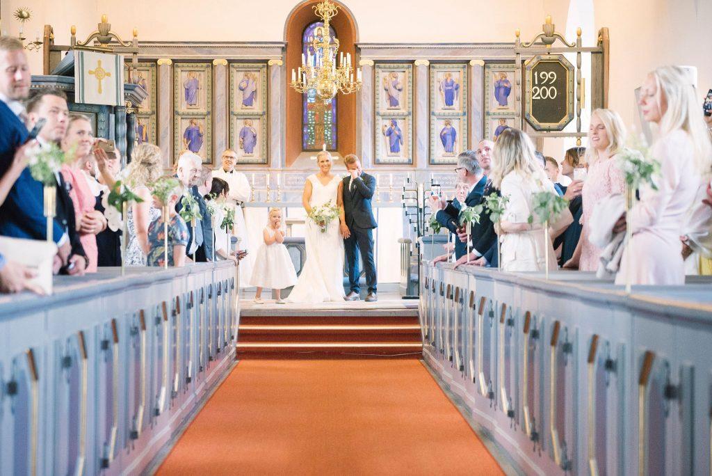 Brudpar Bäckseda kyrka, Vetlanda, småland