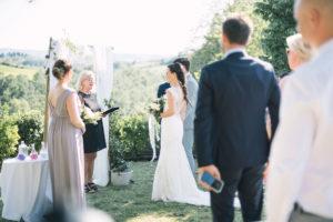 Drömbröllop i Toscana, Italien
